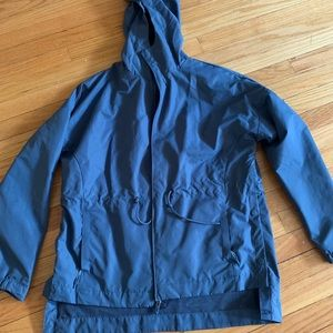 Champion rain jacket with buttons on side